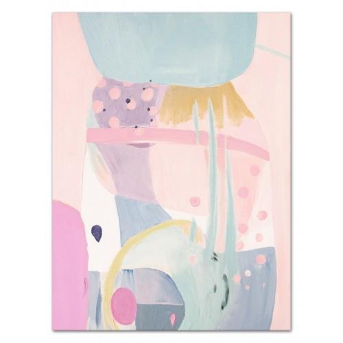 Obraz Abstrakcja Pink 6