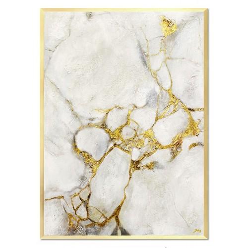 Obraz Abstrakcja Gold Marmur