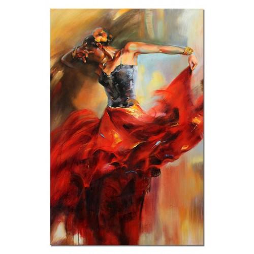 Obraz Abstrakcja Flamenco