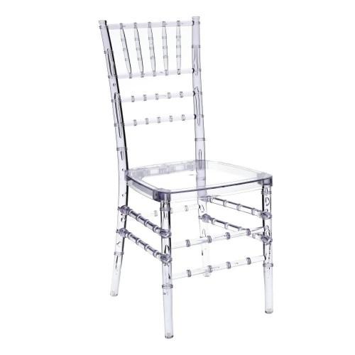 Krzesło transparentne Chiavas