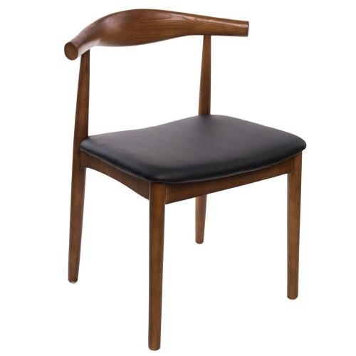 Krzesło Codo drewniane j. brąz