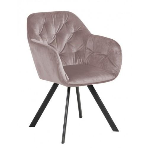 Krzesło Lolita VIC Dusty Rose
