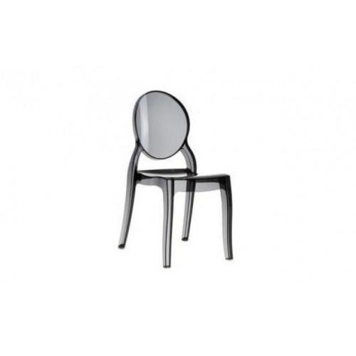 Krzesło Lama black transp