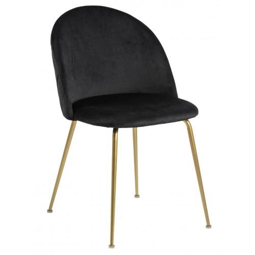 Krzesło Loss Black /Gold