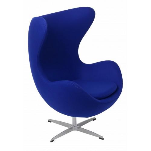 Fotel Jajo atramentowy kaszmir 27 Premium
