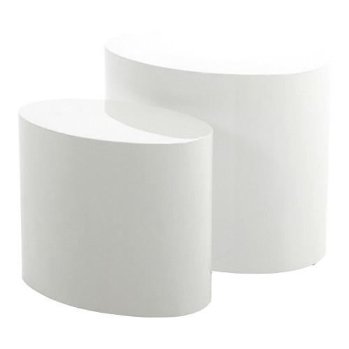 Zestaw stolików Mice białe