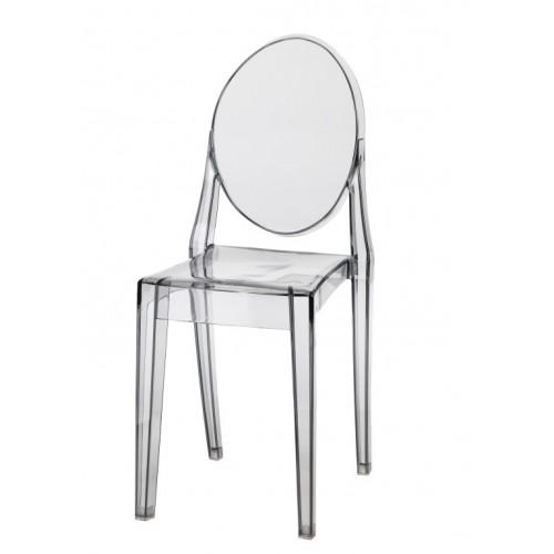 Krzesło Vitaly szary transp.