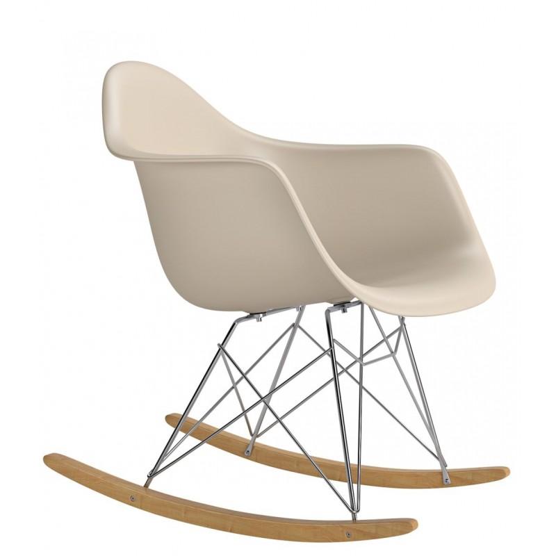 Krzesło bujane Rita beige