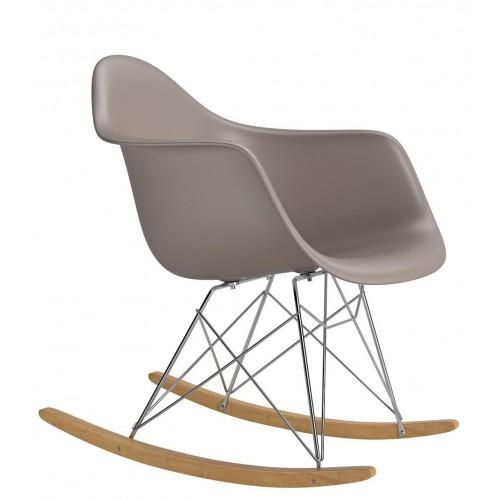 Krzesło bujane Rita mild grey
