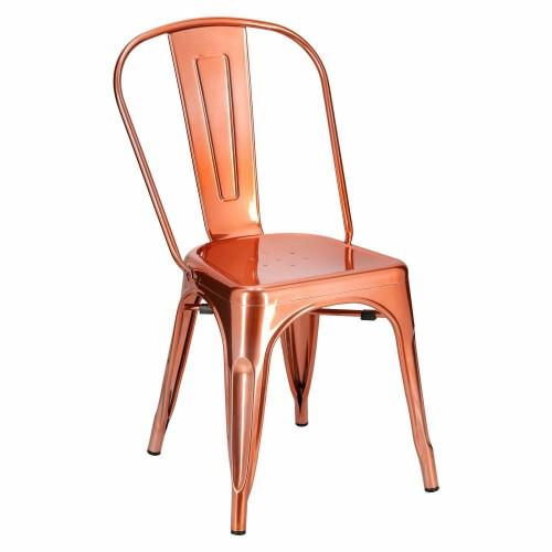 Krzesło Paris miedziane insp. Tolix