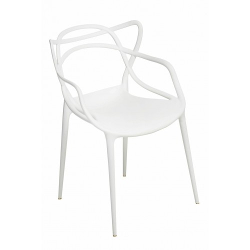 Krzesło Boss białe