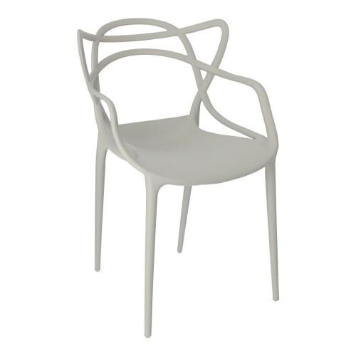 Krzesło Boss szare