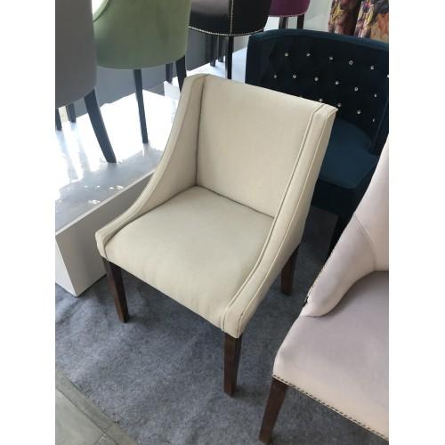 Krzesło Morrone  tkanina bezowa