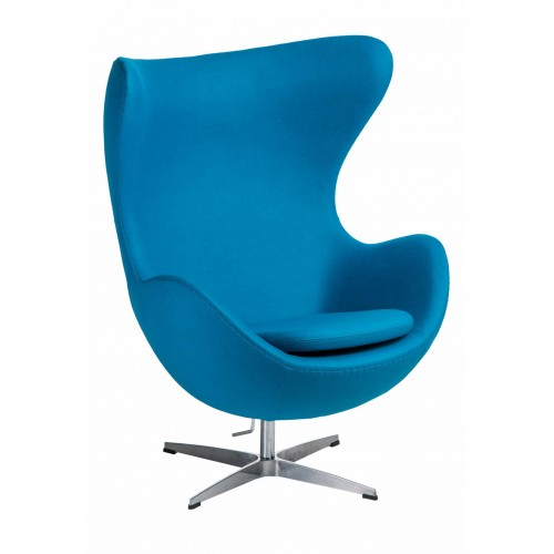 Fotel Jajo kaszmir niebieski jasny 43 Premium