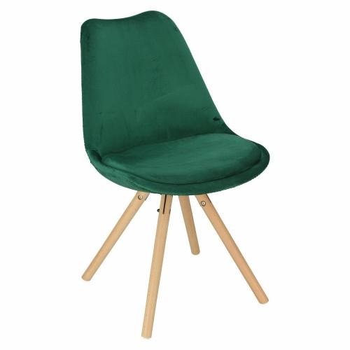 Krzesło Lord Star Velvet zielony