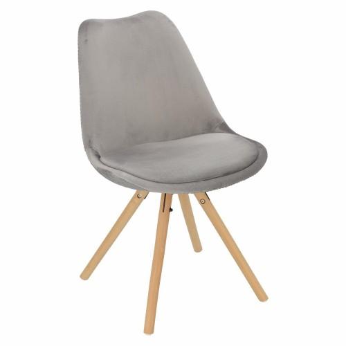 Krzesło Lord Star Velvet szary
