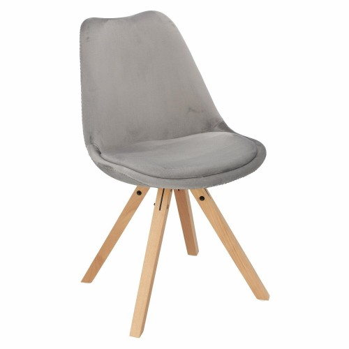 Krzesło Lord are Velvet szare