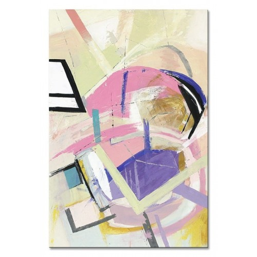 Obraz abstrakcja Lila Violet 1