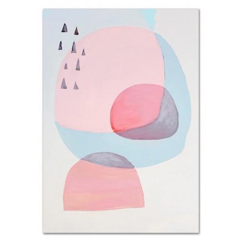 Obraz Abstrakcja Pink 9