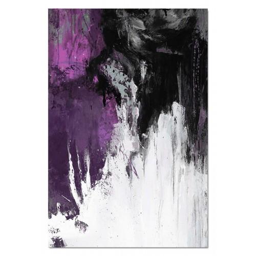 Obraz abstrakcja Dark Violet 1