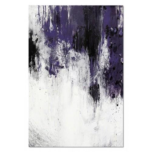 Obraz abstrakcja Dark Violet 2