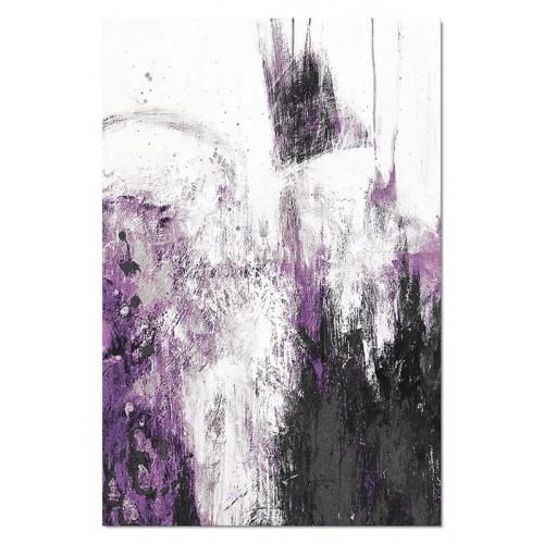Obraz abstrakcja Dark Violet 3