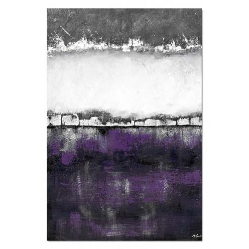 Obraz abstrakcja Dark Violet 4