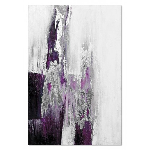 Obraz abstrakcja Dark Violet 5