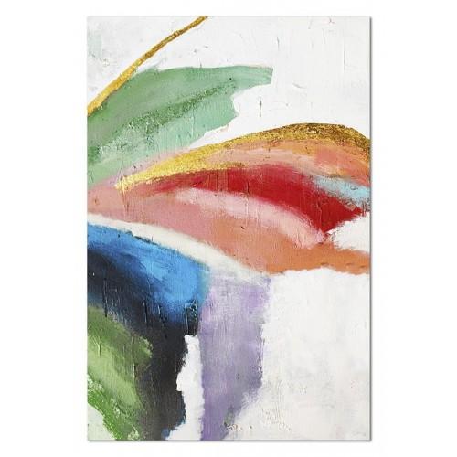 Obraz abstrakcja Czerwona Linia