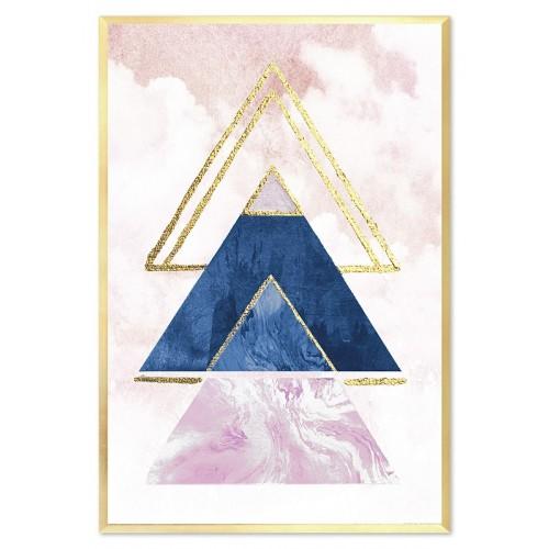 Obraz Abstrakcja Crystal 4