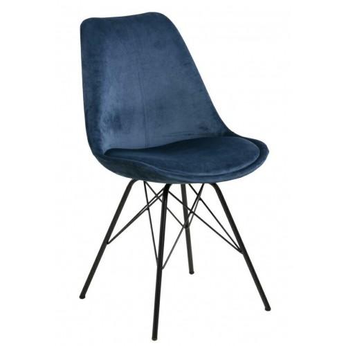 Krzesło Kris VIC niebieskie