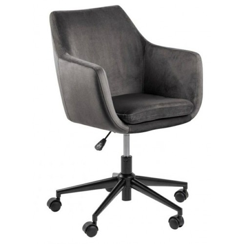 Fotel biurowy na kółkach Nina VIC szary