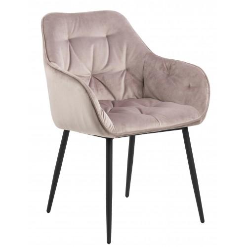 Krzesło Brooklen VIC Dusty Rose