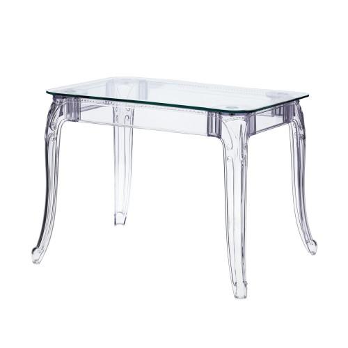 Stół Ghost 80x120cm transparentny