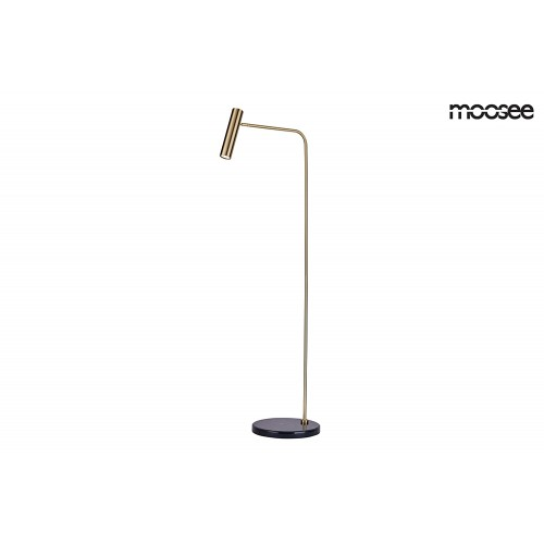 MOOSEE lampa podłogowa LUPE FLOOR - złota
