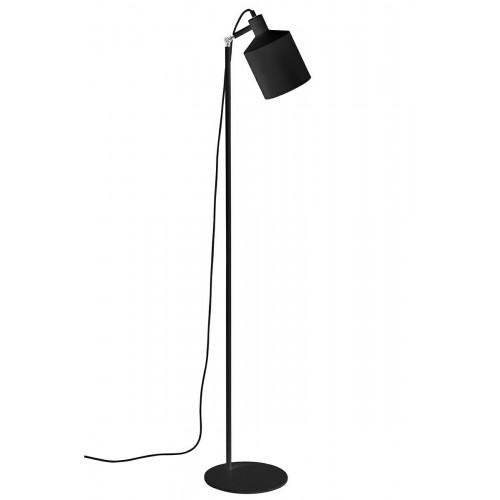 Lampa podłogowa LEKTOR czarna - aluminium