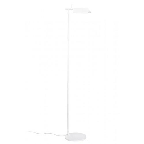 Lampa podłogowa PEAK biała - aluminium