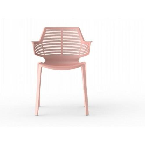 Krzesło Ikona różowe