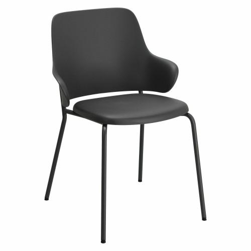 Krzesło Claret czarne/ szare