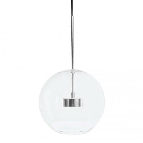 Lampa wisząca CAPRI chrom - LED, aluminium, szkło
