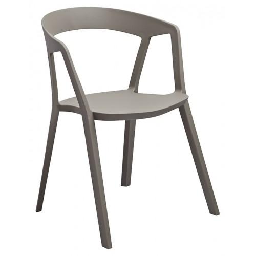 Krzesło VIBIA szare - polipropylen