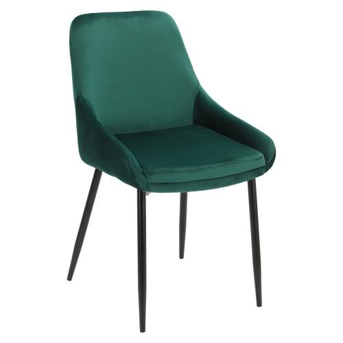 Krzesło Floyd Velvet zielone