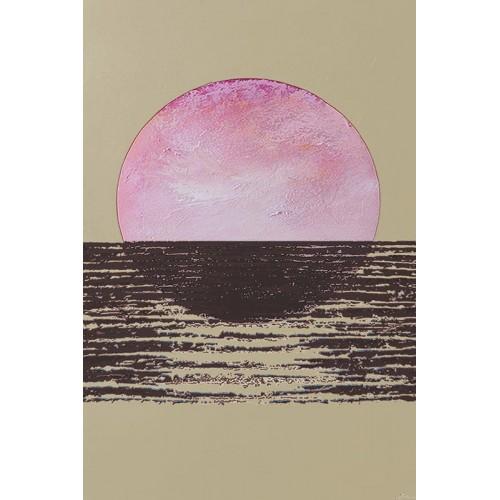 Obraz Abstrakcja Pink Sun 1