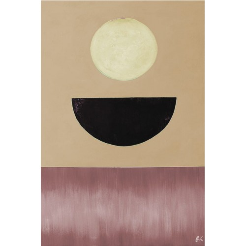 Obraz Abstrakcja Pink Sun 2