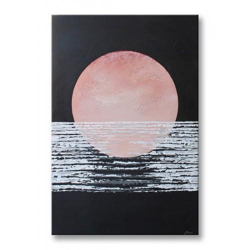 Obraz Abstrakcja Pink Sun 4