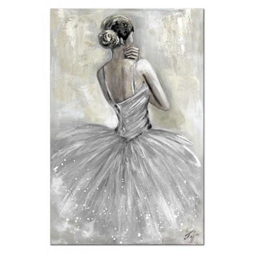 Obraz Baletnica Glamour Grey