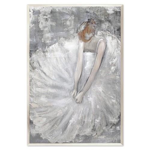 Obraz Baletnica Glamour Silver
