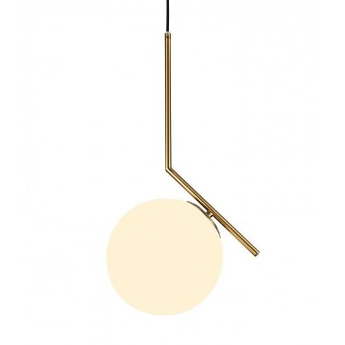 NOWOCZESNA LAMPA WISZĄCA MOSIĘŻNA SORENTO D20