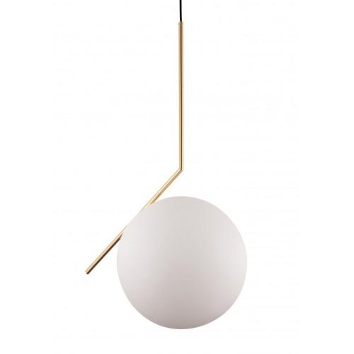 NOWOCZESNA LAMPA WISZĄCA MOSIĘŻNA SORENTO D30
