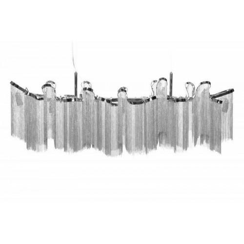 Lampa wisząca ATLANTA 118 - aluminium, stal